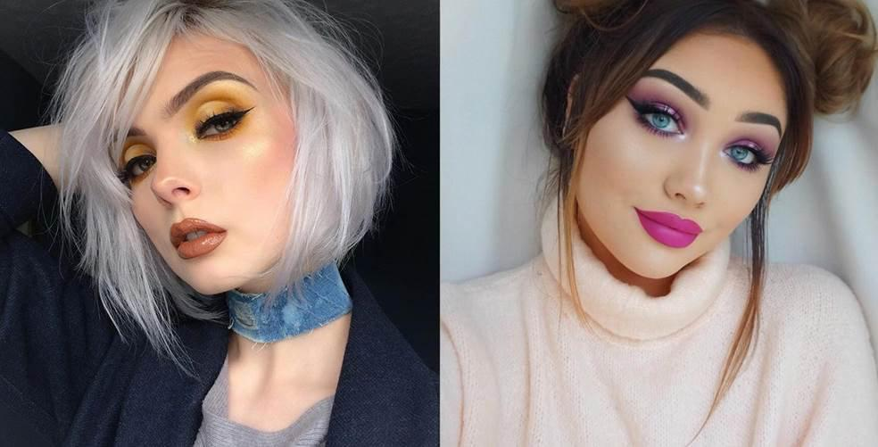6 perfectly festive Insta beauty looks