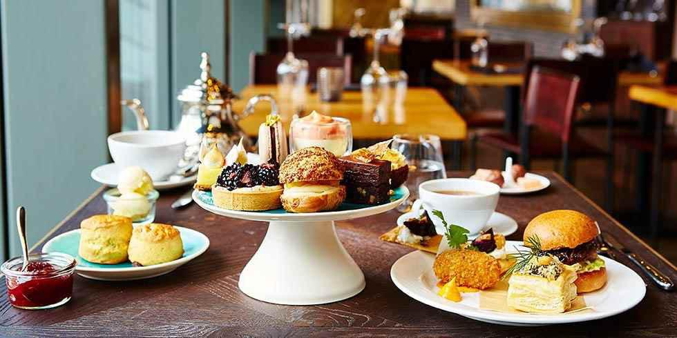 10 alternative afternoon tea experiences