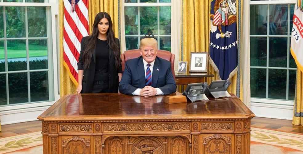Pop culture meets politics: Reality TV's First Lady Kim Kardashian heads to Capitol Hill