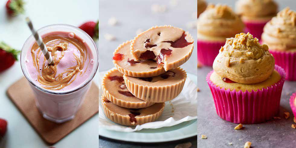 5 perfect Peanut Butter and Jelly Day treats