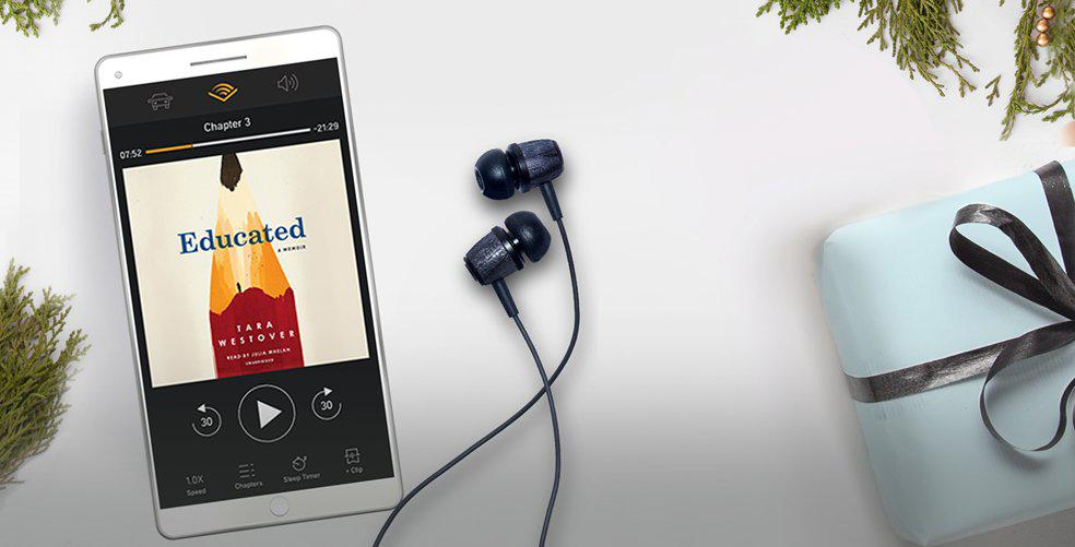 6 reasons to be thankful for your newest life hack, Audible