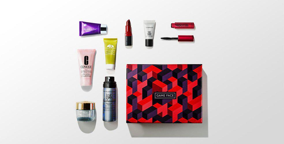 #GAMEFACE beauty box has landed!