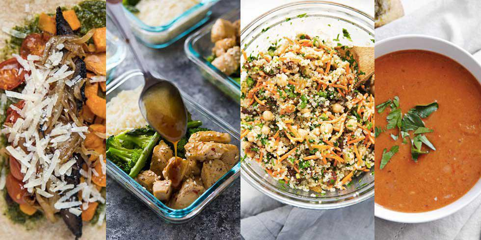 4 Quick And Easy Lunches To Prep