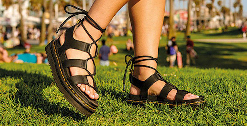 8 pairs of sandals that prove you can rock Dr. Martens every season