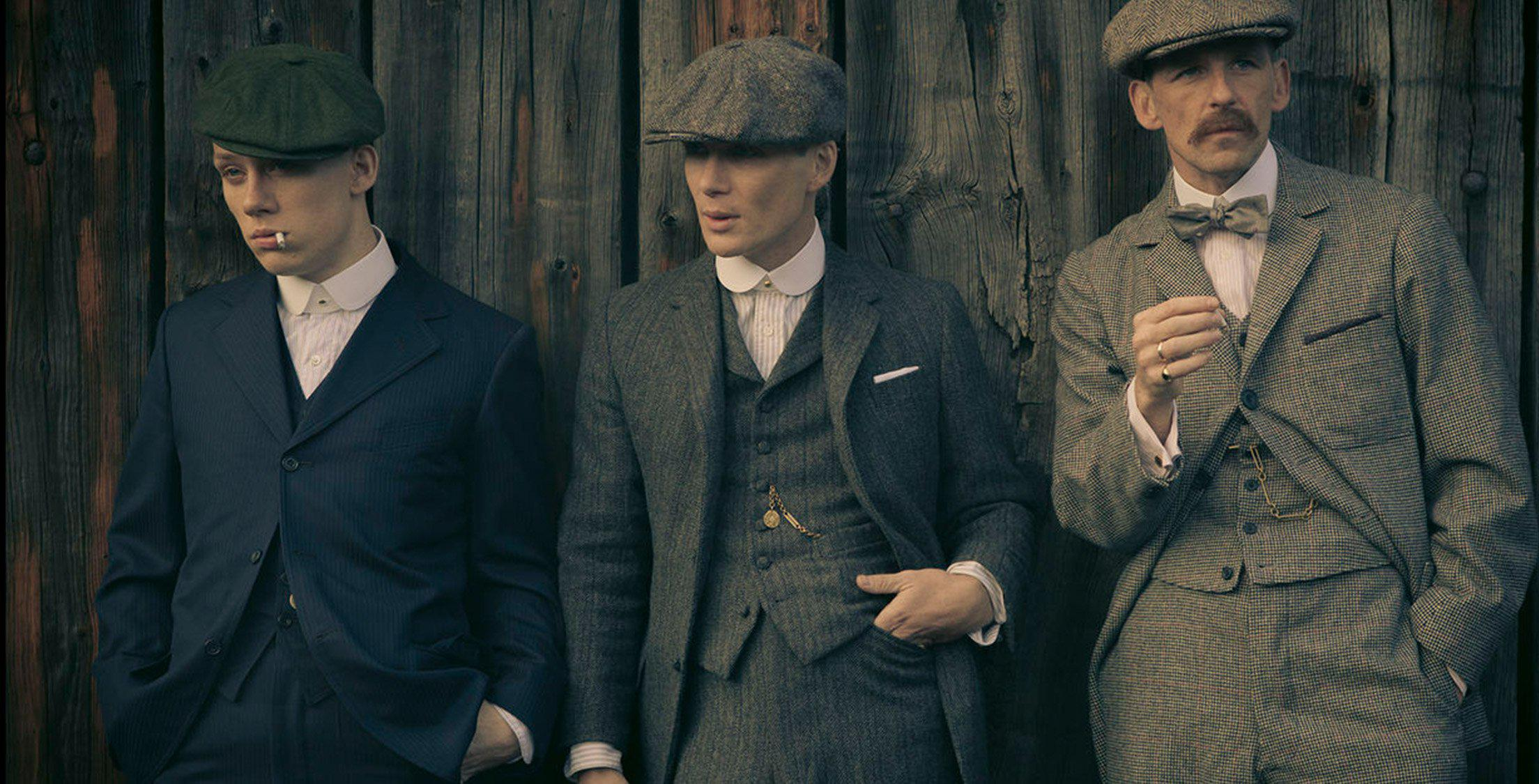 How to get the Peaky Blinders look