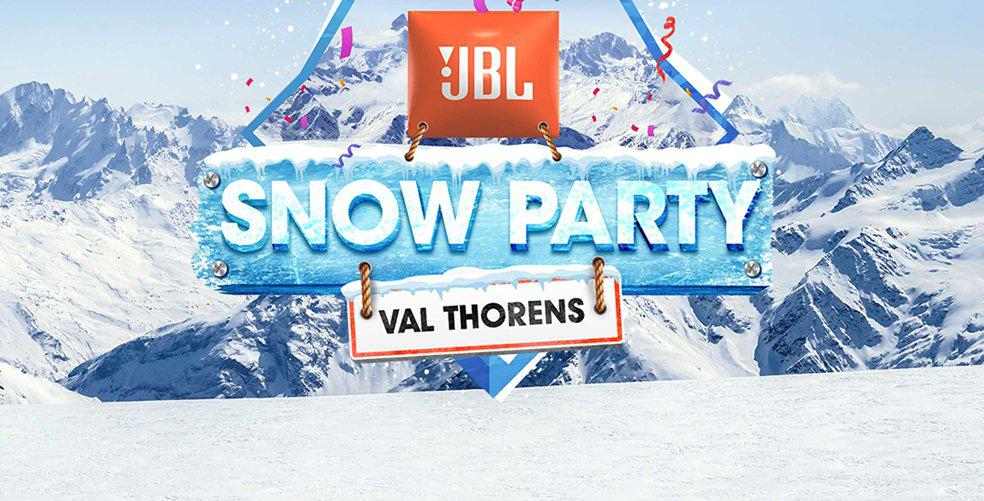Win 2 tickets to the JBL Snow Party in Val Thorens
