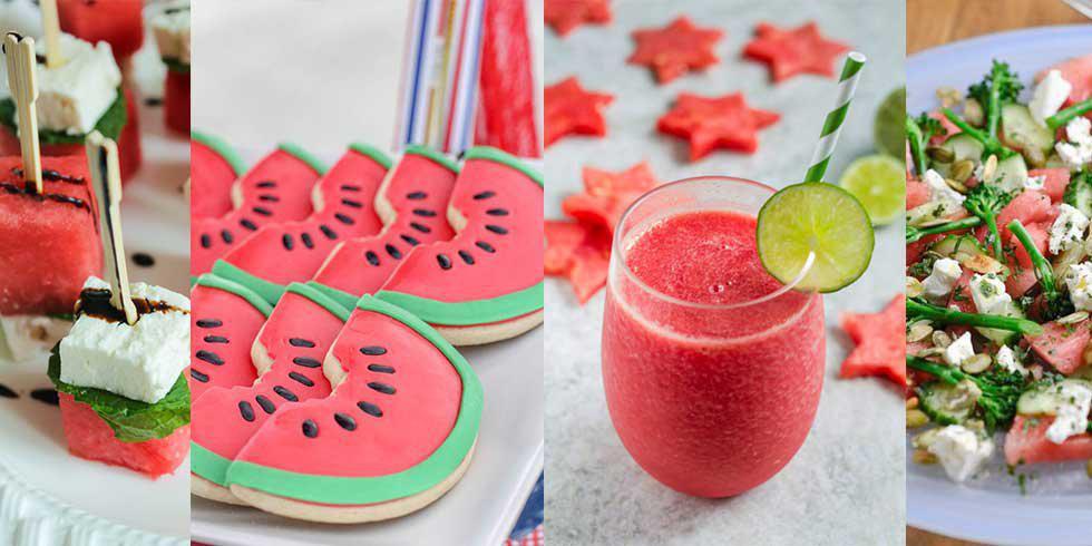 9 köstliche Wassermelonen-Rezepte