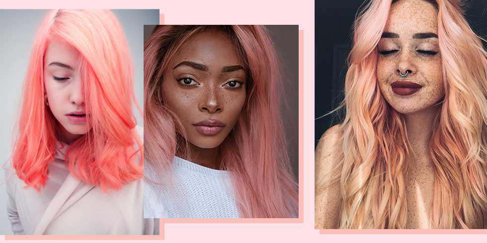 8 reasons you need pastel peach hair