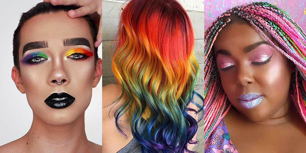 11 hair and makeup looks perfect for Pride Month