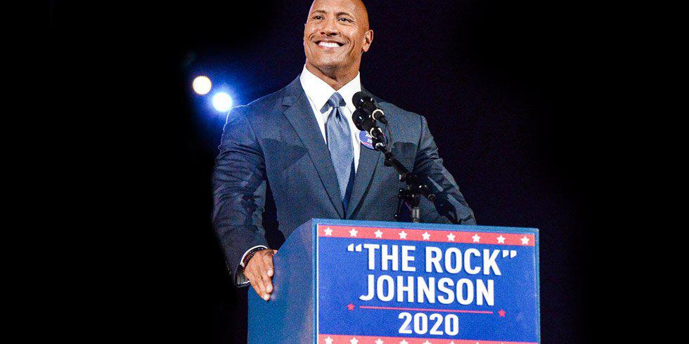 The Rock for US President