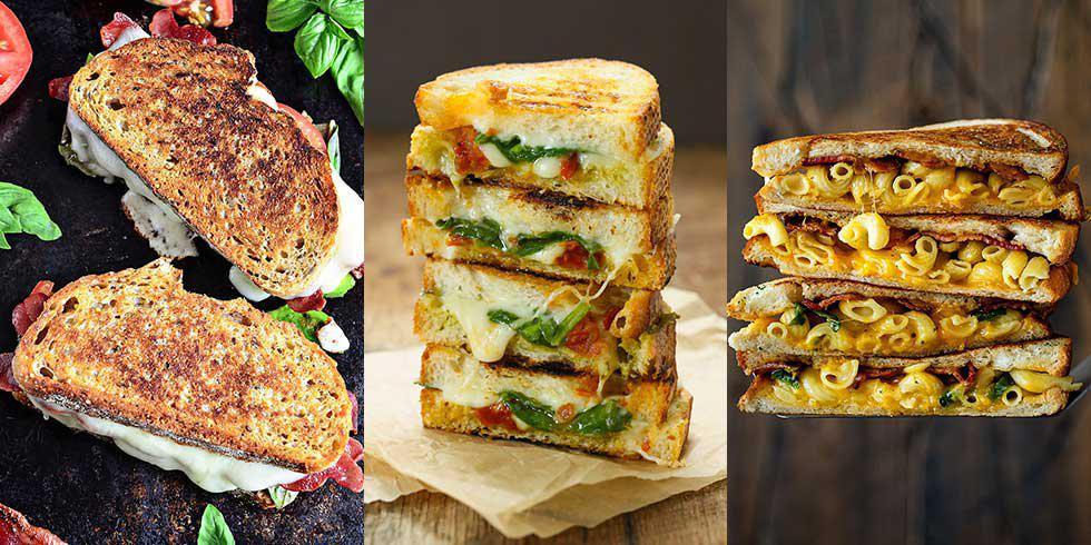 6 délicieux sandwichs grillés au fromage