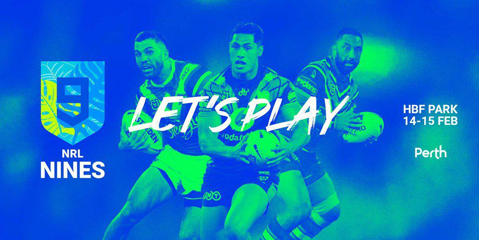 WIN 4 x two-day passes to the NRL Nines in Perth!