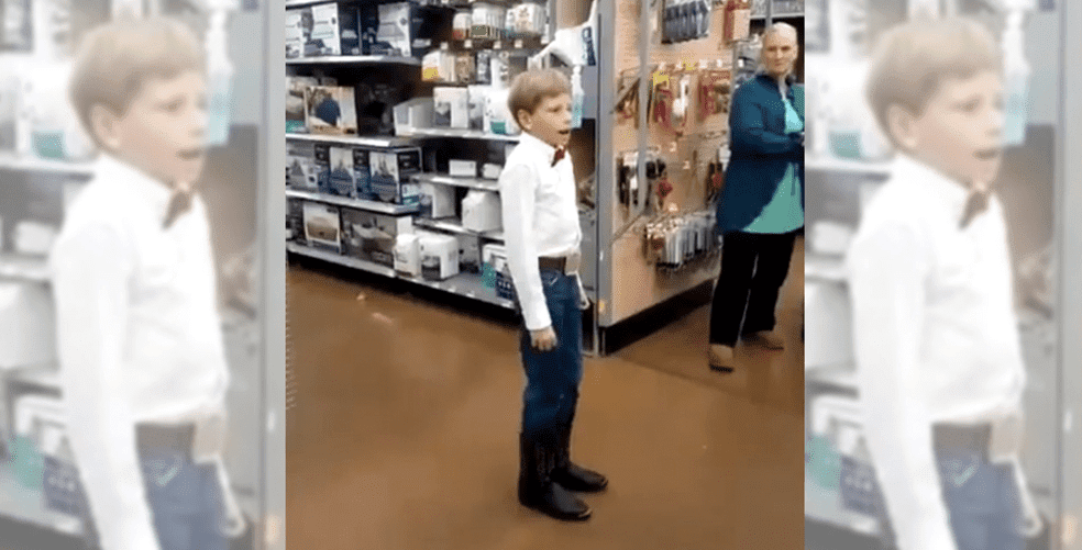 The internet's best reactions to the Walmart Yodel Boy