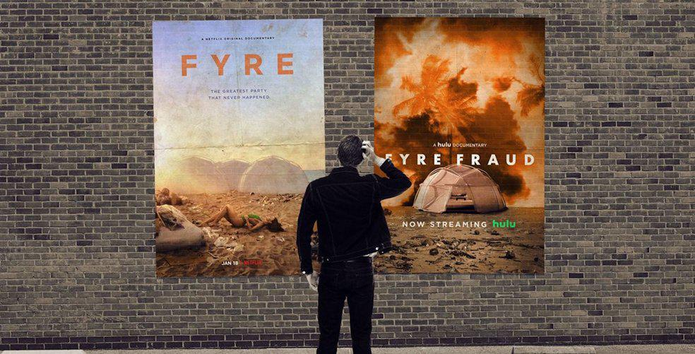 Don't fight Fyre with Fyre (and other news)