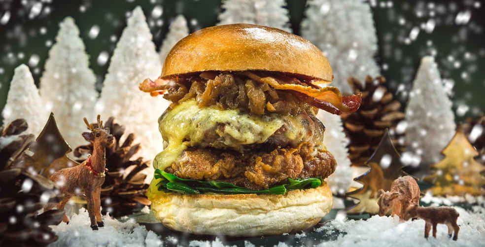 12 Christmas-themed burgers you'd be silly to miss