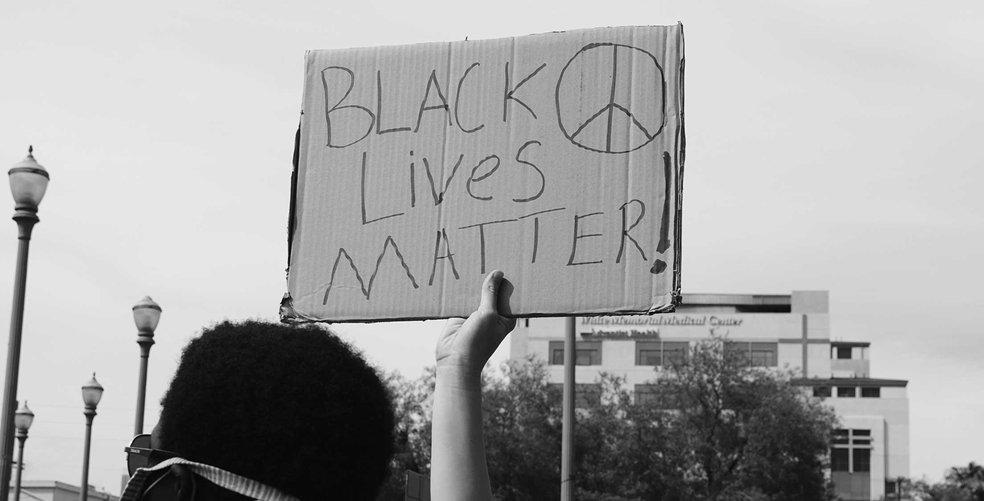 Powerful moments from Black Lives Matter protests around the world