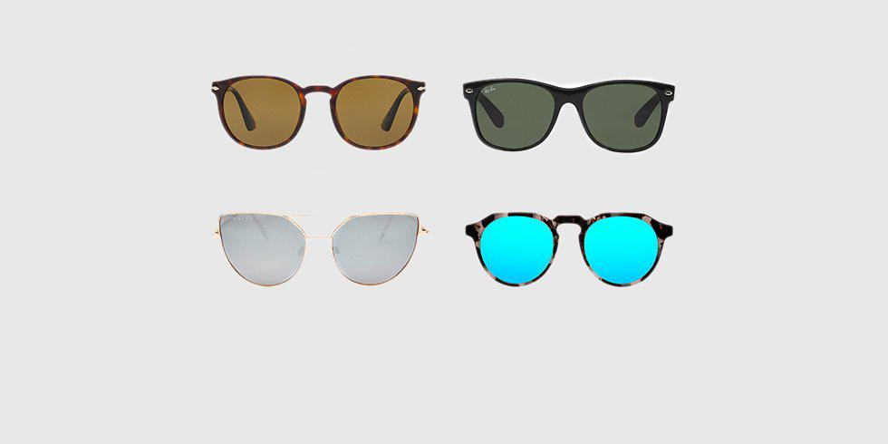 Find the perfect sunglasses for your face shape