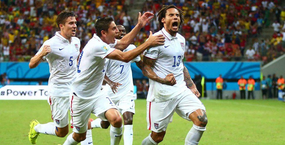 Top 5 goals from World Cup 2014