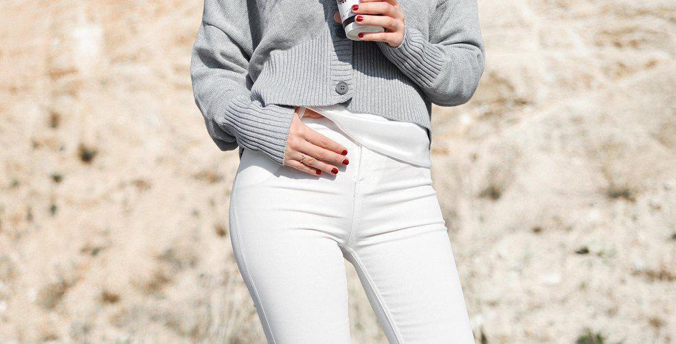 7 ways to style white jeans this spring and summer