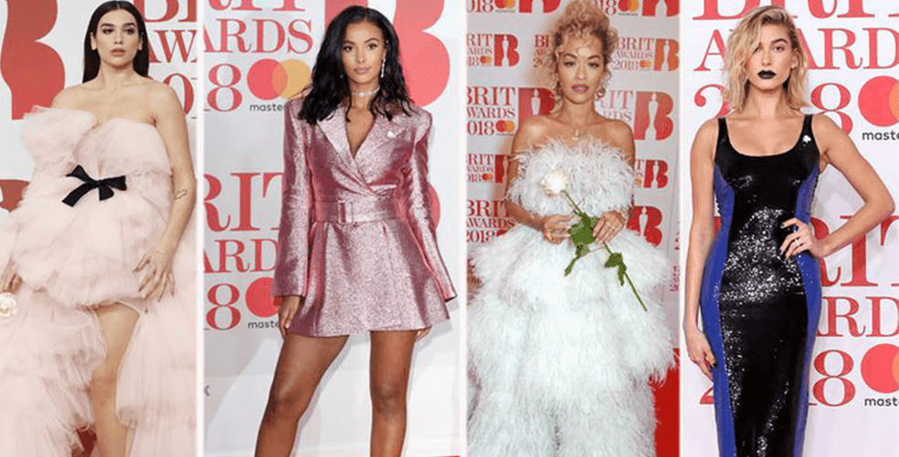 who-wore-what-the-brit-awards-2018