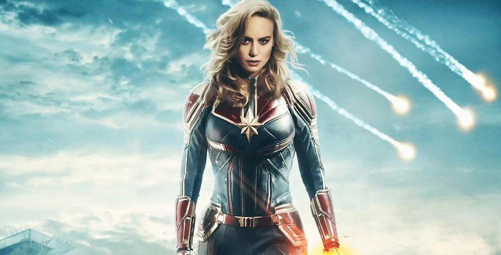 (Captain) Marvel has never looked better