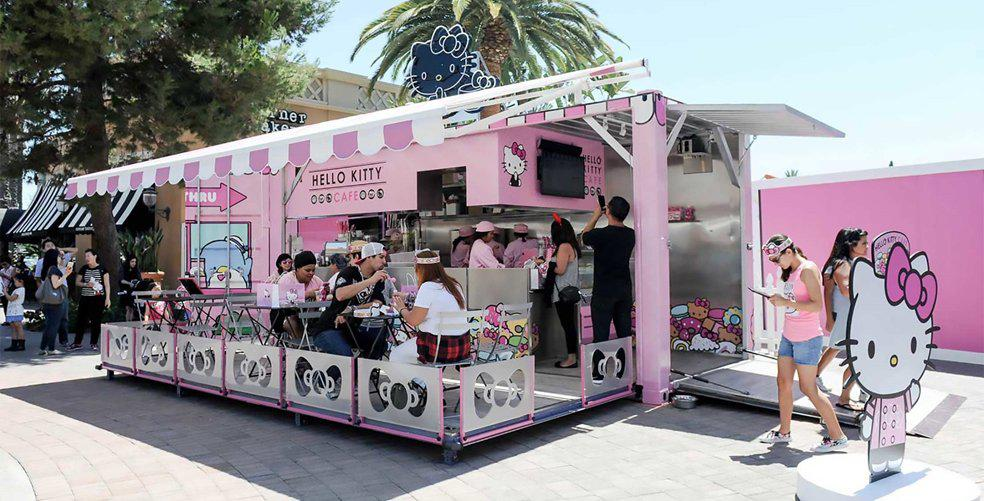 PSA: There's a Hello Kitty traveling cafe in the U.S.