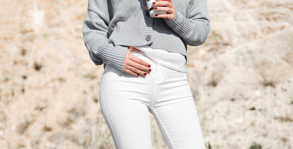 7 ways to style white jeans for spring/summer