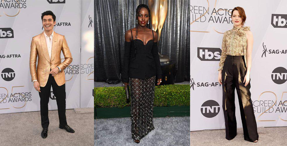 The best dressed of the 2019 SAG Awards