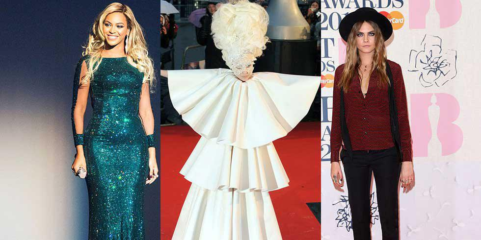 The Brit Awards: 7 iconic outfits
