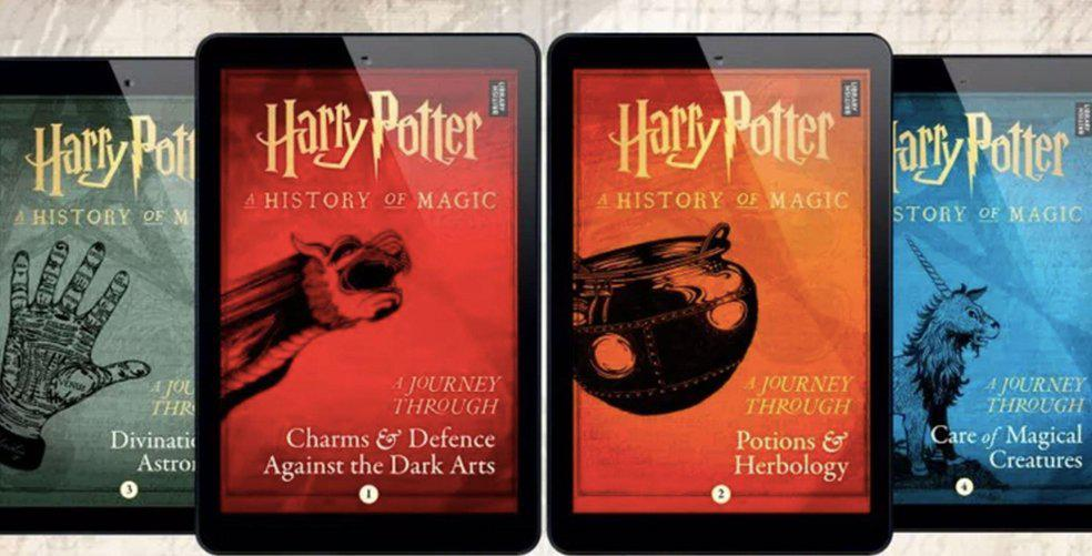 4 new Harry Potter eBooks are coming & Twitter says no ty