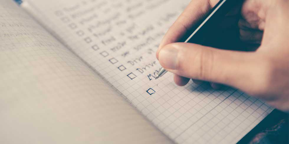 Your ultimate final term checklist