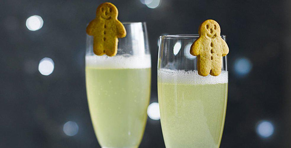 Holiday spirits and festive cocktails