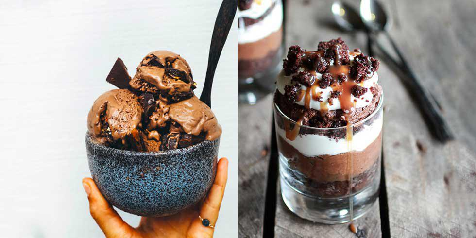 6 Perfect Chocolate Caramel Puds