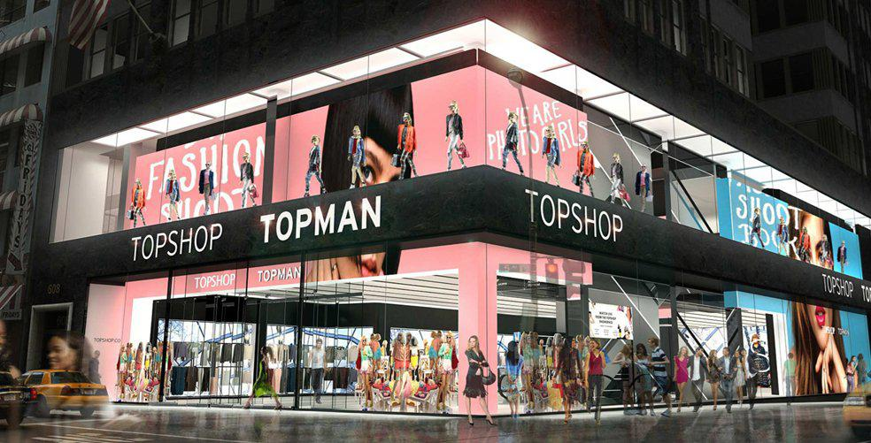Brace yourselves - Topshop AU is Back!