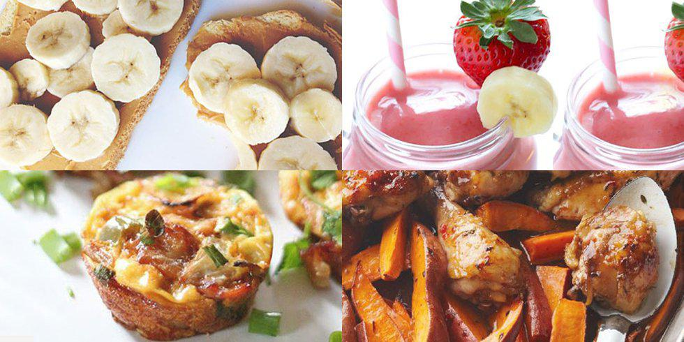 6 pre & post workout snacks