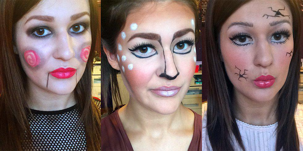 Halloween Looks From Your Makeup Bag