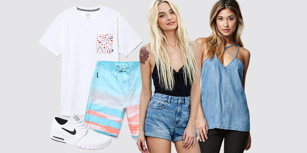 PacSun Does Spring Break Fashion