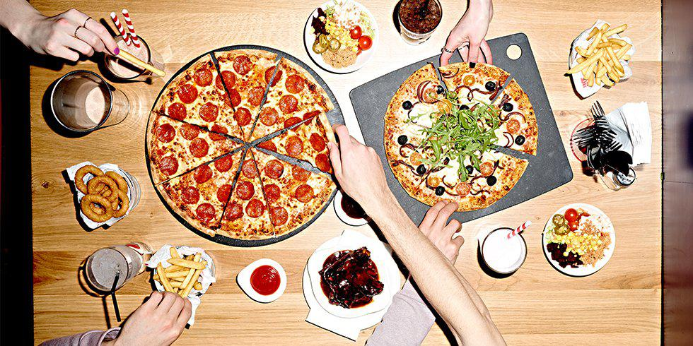 The 9 commandments of pizza