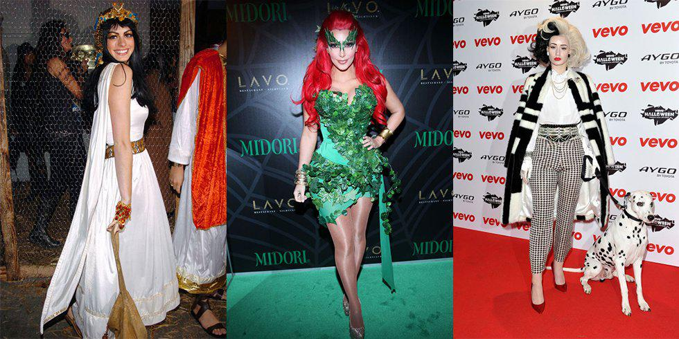 Celebrities do Halloween