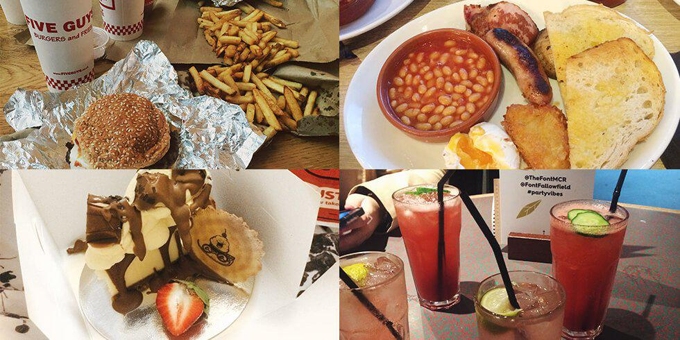 Lauren's top 6 Manchester eats!